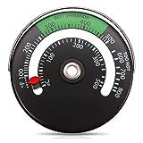Kamin Thermometer,Magnetherd Thermometer Thermometer Messgerät Für Holz-Schornsteinrohr-Ofentemperatur Messgerät