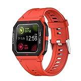 WEINANA Smartwatch 1,3-Zoll-Vollbild-Touch-Smart-Armband-Herzfrequenz-Überwachungsinformationen erinnern eingehende Anrufe daran, die Smartwatch abzulehnen(Color:C.)