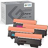 G&G PRINSTANT CLT-P404S Kompatibel für Samsung CLT-P404S für Samsung Xpress C480 C480FW C480W C430W C430 Toner(1 x Schwarz,1 x Cyan,1 x Magenta, 1x Yellow)