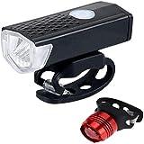 klt Fahrradlicht, Fahrradlicht, Mountainbike, USB, wasserbeständig, wiederaufladbar, Rücklicht