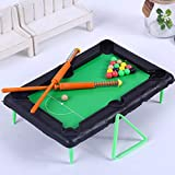 U/K PULABO Lustige Kinder Mini Tisch Billard Pool Simulation tragbare Desktop Spielzeug Set robust und kostengünstig nützlich