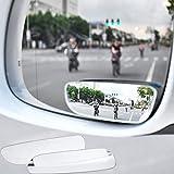 Zhgzhzwlf Toter Winkel Spiegel Auto, Universal Blind Spot Spiegel Verstellbar Zusatz Auto Aussenspiegel Weitwinkel Spiegel Zusätzliche Rückspiegel (Links + Rechts)