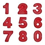 LiA LiA Backform Kuchenform Silikon Große Zahl XXL 24 cm (Komplett-Satz)