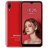 Blackview A60 Smartphone ohne Vertrag Günstig 15,49 cm (6,1 Zoll) HD+ Display, 4080mAh Akku, 13MP+5MP Dual Kamera, 16GB ROM, 128 GB erweiterbar Dual SIM Android Einsteiger Handy - Deutsche Version