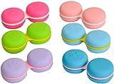 Sports Vision's Neu Macaroon Violett Kontaktlinsenbehälter / Behälter für Einweichen CE-gekennzeichnet und FDA-zugelassen
