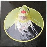 Zonster Cartoon-Ente-Regen-Hut Faltbare Kinderregenmantel Regenschirm Cape Netter Regen-Mantel-Mantel Allgemeinhin Für Jungen Mädchen