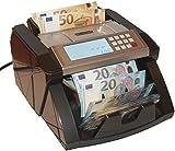 Banknotenzähler Geldzählmaschine Geldscheinzähler Wertzähler Geldzähler Geldscheinprüfer erkennt alle neue 100 und 200 EUR
