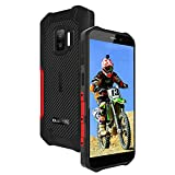 OUKITEL WP12 Outdoor Smartphone Android 11 Handy Ohne Vertrag, Dual SIM IP68 Wasserdichter, 5,5 Zoll 4000mAh Akku 13MP Kamera 256 GB erweiterbar Simlockfreie Handys, NFC Robuste Einstiegs Handys (Rot)