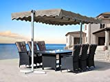 QUICK STAR Standmarkise 3,75x2,25m Terrassenüberdachung Dubai S