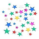 Iwinna Star Tisch-Konfetti, Metallic-Glitzer, Sternen-Konfetti für Hochzeit, Geburtstag, Babyparty, Dusche, Tischdek