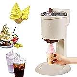IW.HLMF Hausgemachte elektrische Eismaschine Rezepte, Kegel Eismaschine Maschine, vollautomatische Obst Softeis Eismaschine