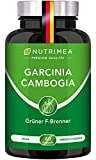 Abnehmen mit GARCINIA CAMBOGIA   60% HCA Hochdosiert   100% Natürlicher Fatburner + Kohlenhydratblocker + Appetitzügler   Vegane Kapseln Keto Burn