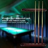fegayu Pool Rack, einfache Installation Pool Wall Rack , für Pool Bars für Club