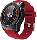 YSSJT Smart Watch Farbbildschirm Smart Watch GPS Luftdruck Mehrere Sportmodi Karte Anruf Herzfrequenz Sportuhr