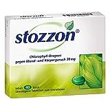 stozzon Chlorophyll-Dragees gegen Mund- und Körpergeruch, 40 St. Tab