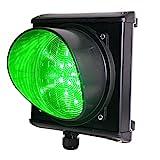 Verkehrsampel GRÜN LED, Torampel, Ampelanlage (24V)