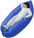 Aufblasbare Sofas Ultraleichte aufblasbare couch, wasserdicht faule sofa outdoor tragbare luftbett kissen typ aufblasbare tasche mittagpause ein einfaches bett kann foldablacecessories gespeichert wer