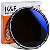 K&F Concept K Pro 77mm ND Filter Slim Variabler Graufilter ND2-400 (1-8.6 Stop) Neutral Graufilter