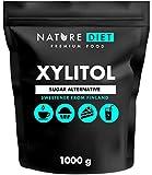Nature Diet - Xylit-Zucker, 1kg | Xylit aus Finnland 1000 g |100% natürliches Xylit