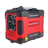 Matrix Inverter Stromgenerator mit USB, Benzin leise, 4 takt, 2000 Watt, für Camping und Garage