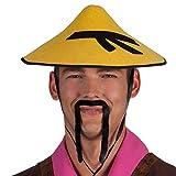 Boland 01808 - Schnurrbart Chinese, Einheitsgröße, schwarz