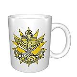 Wappen der malaysischen Streitkräfte Tassen Home Office Kaffeetasse Geeignet für Tee, Kakao, G
