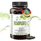 Prosentio® Chlorella – [120] Chlorella BIO Presslinge – vegan, laktosefrei und glutenfrei – ohne Zusatz von Aromen und Farbstoffen
