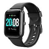 LIFEBEE Smart Watch, Fitness Tracker HR Touch Screen Activity Tracker, IP68 Wasserdicht Fitness Uhr mit Herzfrequenz Schlafmonitor Schrittzähler Kalorienzähler Stoppuhr Laufuhr für Herren Damen