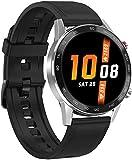 Smart Herren-Armbanduhr, IP68, wasserdicht, Bluetooth, 3,5 cm, 360 x 360 EKG, Wärmefrequenz, Schlafmonitor, Smartwatch, modische Sportuhren-D