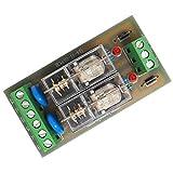 dailymall DC 12V 2 Wege NPN Relaismodul Niedrigpegelsignal (GND 0V) mit Kontinuierlichem Diodenstromschutz