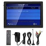 SHYEKYO Car Television Portable Digital TV 14-Zoll-LCD-Speicher & MMC-Karte