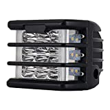 WEIHO 36W LED Arbeitsscheinwerfer Offroad Flutlicht Fluter 12V-30V Rückfahrscheinwerfer Zusatzscheinwerfer Scheinwerfer für Trecker KFZ Bagger SUV, UTV, ATV