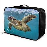 Reisetasche mit Schildkrötenmotiv, wasserdicht, leicht, große Kapazität, tragbar