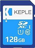 128GB SD Card Class 10 Speicherkarte for Canon EOS M50, M100, M10, M6, M5, 6D, 60D, 70D, 80D, 100D, 550D, 600D, 1100D, 1200D, 1300D, 2000D, 4000D, 9000D Digital Kamera UHS-1 U1 SDHC 128 GB