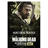 chtshjdtb Walking Dead Zombie Movie Art Poster Leinwand Gemälde Bilder Wohnzimmer Home Decor Geschenke Drucken Auf Leinwand-50X70Cm No Frame