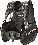 Cressi Solid Dive Center Edition Tauchjackets Gute Tarierung, Schwarz, S
