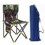C Hello Cloud Camping Klapphocker, Mini Outdoor Zusammenklappbare Slacker Stühle Sitz Tragbar Leichter Klapphocker zum Angeln Camp Reisen Wandern Beach Garden mit Tragetasche(Mittelgroßer Angelstuhl)