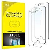JETech Schutzfolie Kompatibel mit iPhone SE 2020 / 8 / 7 / 6s / 6, Gehärtetem Glas Displayschutzfolie, 3 Stück