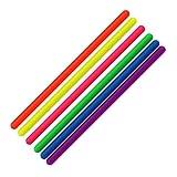 Zaryin Dehnbare Fidget Nudeln String Fidget / sensorisches Spielzeug (BPA/Phthalat/Latexfrei) dehnbar von 25,4 cm bis 25,4 cm.
