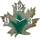 Wetterfeste Metall-Wanduhr, Garten Retro Wanduhr Ornamente, schleichende Sekunde Bewegung leicht zu lesen, präzises Timing, Kreativität, einfach zu installieren