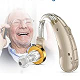 Allwin Hörgerät Senioren Wiederaufladbar Mit Noise Cancelling, Digitaler Hörverstärker Für Erwachsene Mit Hörverlust, Tonverstärker Ohrhörgeräte