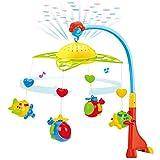 LOVOICE Baby Mobile Für Kinderbett Krippe, Baby Spieluhr, Baby Crib Mobile Mit Lichtern Und Entspannendem Musik Musical Cribel Mobile Mit Deckenlicht Projektor Kindergarten Spielzeug Für Babys