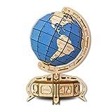 EWA Eco-Wood-Art The Globe DER GLOBUS BLAU
