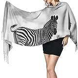 Pashmina Schals und Wraps Schal, afrikanischer Zebra Damen Mode Langer Schal Winter Warm Groß Schal Kaschmir Schal