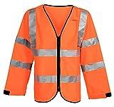 Elka 1320SPEC.030004 Warnweste Xtreme Fluoreszierendes Orange, Größe M