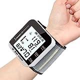 Shanshan223 Herzfrequenz-Impulszähler Messen Sie den Blutdruckmessgerät-Monitor-Handgelenk-Blutdruckmonitor-Stethoskop zum Messen des arteriellen Drucks (Color : NO Voice)