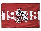 1. FC Köln Fahne/Hissfahne ** 1948 ** 120 x 180 cm 5040046