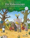 DER ELEFANTENPUPS - arrangiert für Buch - mit CD [Noten / Sheetmusic] Komponist: LEENEN HEIDI + BERNHARD MARTIN