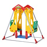 Baby Vivo Kinderschaukel Spielplatzschaukel Gartenschaukel Schaukelgerüst Spielparadies Kinder Z