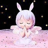 Kinder Sparschwein, Cute Girl Pink Sparschwein Sparbüchse, Engelsform Tropfenresistentes Sparschwein 0420C(Size:13 * 9.5 * 17cm,Color:B.)